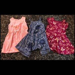 Girls Toddler Dress 3 Pack BUNDLE!!! 😍😍